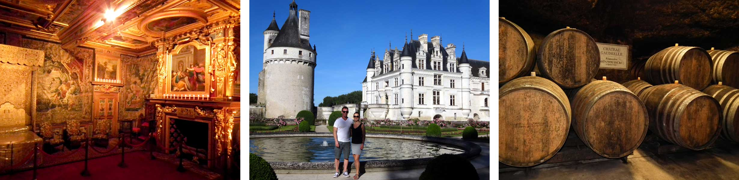 Cheverny Chenonceau and wine
