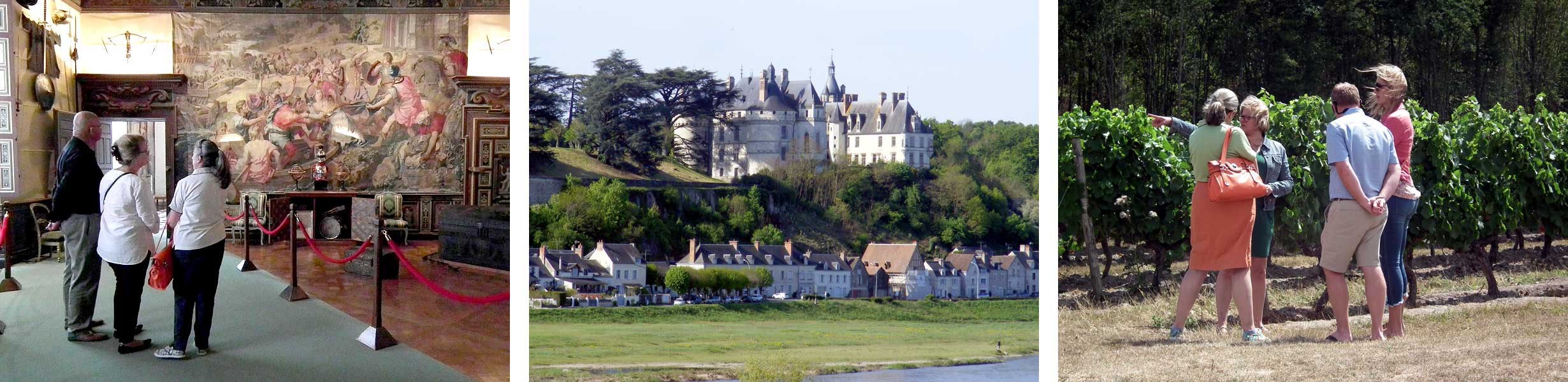 Loches, Chaumont and Chenonceau