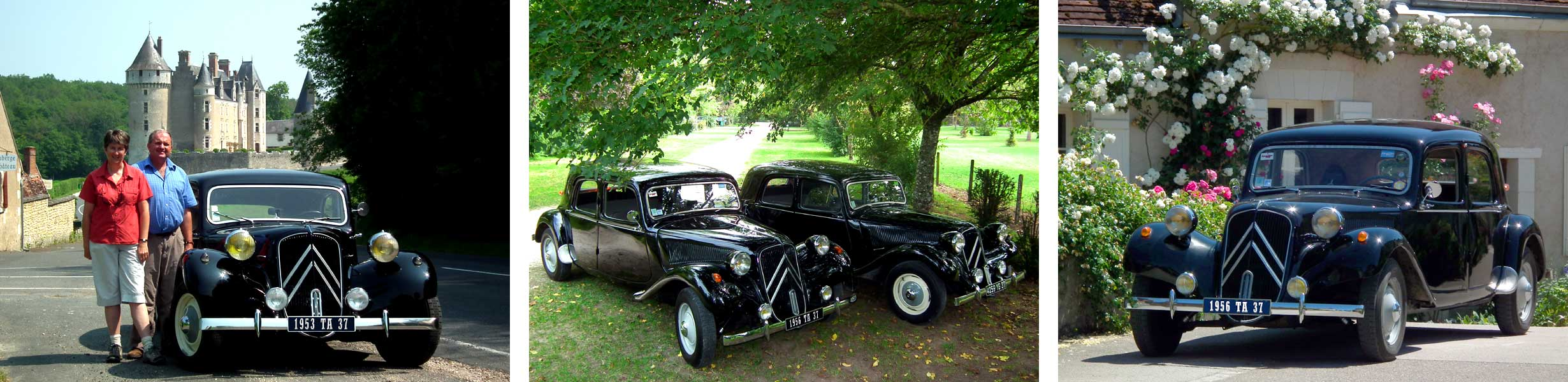See the chateaus of the Loire Valley in classic cars