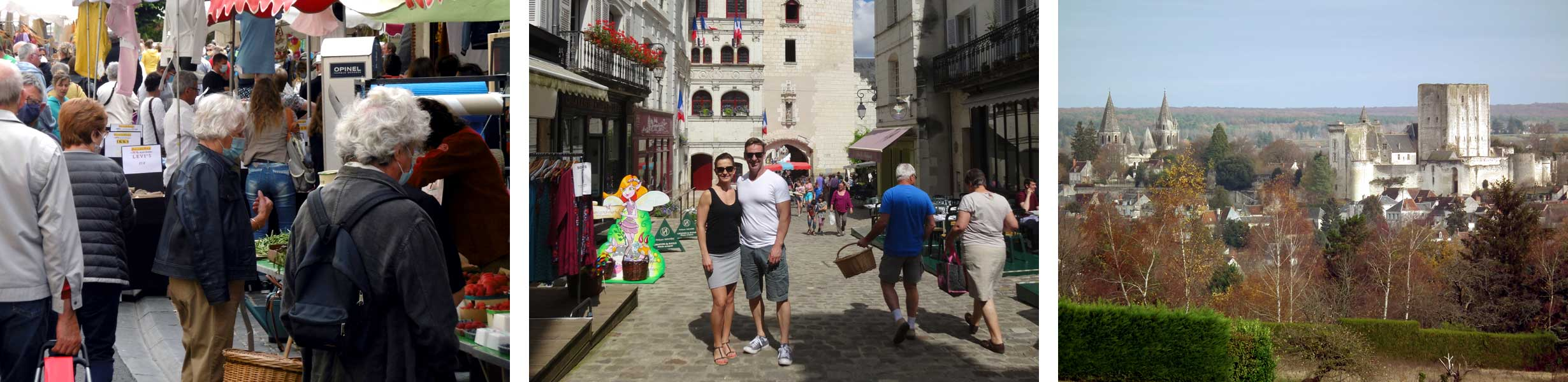 The pretty Royal City of Loches